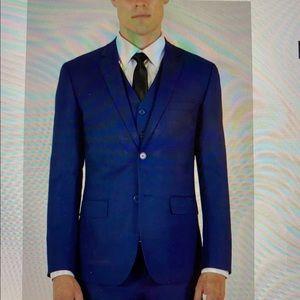 3pc men's suite blue new never worn